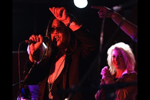 Keystone Roses play Law Rocks! at 100 Club, London